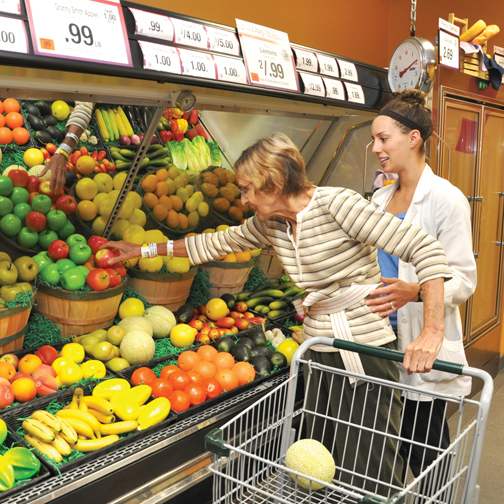 The Neuro Day Rehab Program - stroke and brain injury recovery patient shopping in market