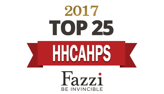 Whittier wins Fazzi's HHCAHPS Patient Satisfaction Award of Distinction