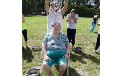 "Sippican Healthcare Center refreshes the ALS bucket challenge, saying it will become a tradition ""until they find a cure"""
