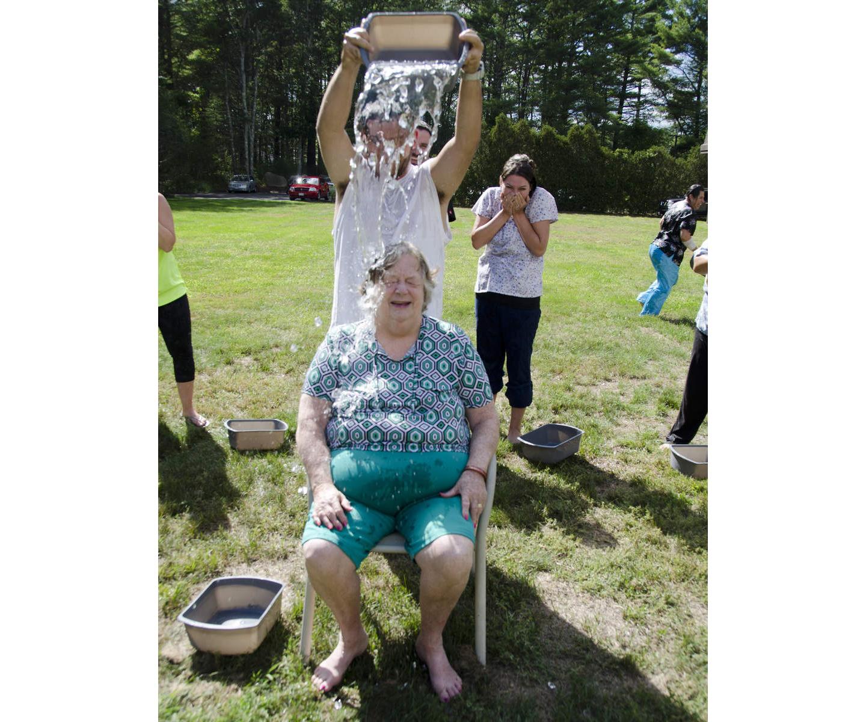 Sippican Healthcare Center employee - ALS bucket challenge