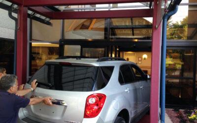 Whittier Way, undergoing renovations, receives a new 5-passenger Chevy Equinox SUV