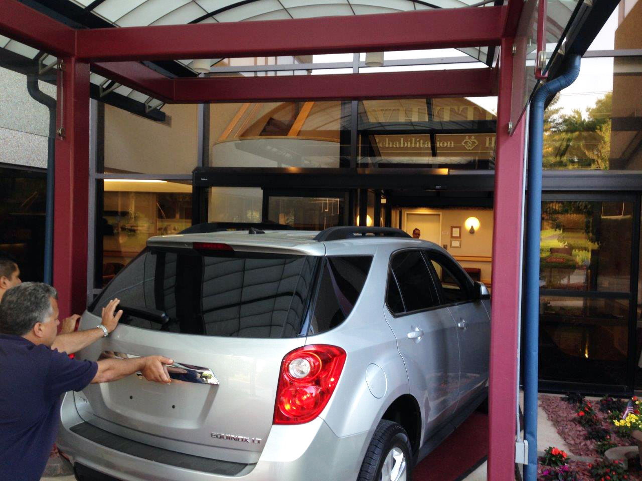 Whittier Way, undergoing renovations, receives a new 5-passenger Chevy Equinox SUV