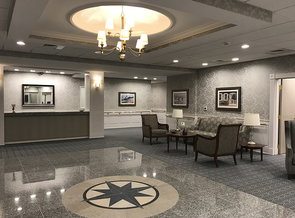 Newburyport's newest premier skilled nursing center opened its doors and started welcoming patients and residents last Monday