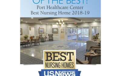 "Another Whittier best! Port Healthcare Center has been recognized as a ""Best Nursing Home"" by U.S. News & World Report 2018-19"