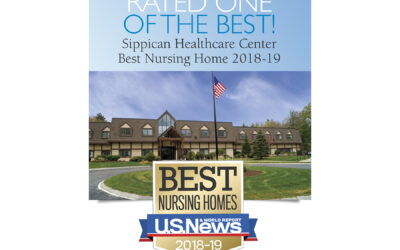 "Another Whittier facility – Sippican Healthcare Center – recognized as a ""Best Nursing Home"" by U.S. News & World Report 2018-19!"