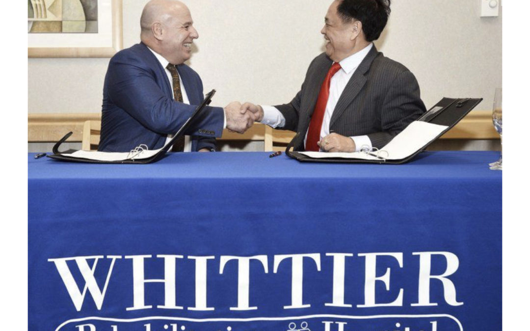 Whittier Health Network partner Hainan Lecheng Investment Company Ltd.