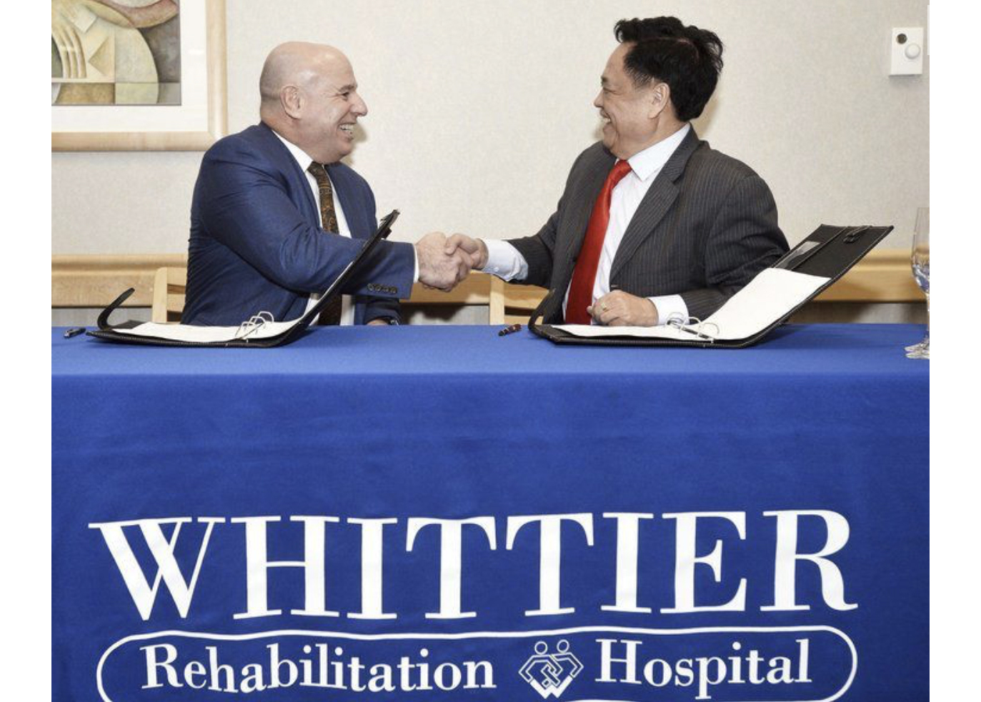 Whittier Health Network to partner with the Hainan Lecheng Investment Company Ltd. to bring first-class, patient-centered rehabilitation services to China