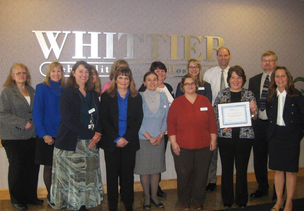 Whittier staff who successfully implemented KYOS document data management healthcare software