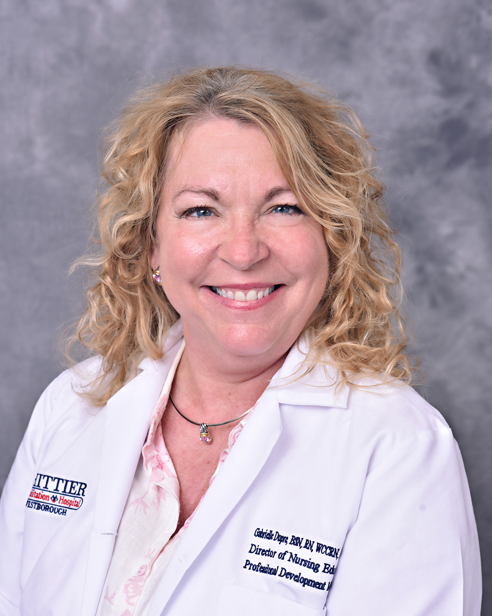 Gabrielle Dupre, BSN, RN, WCCRN, Director of Nursing Education