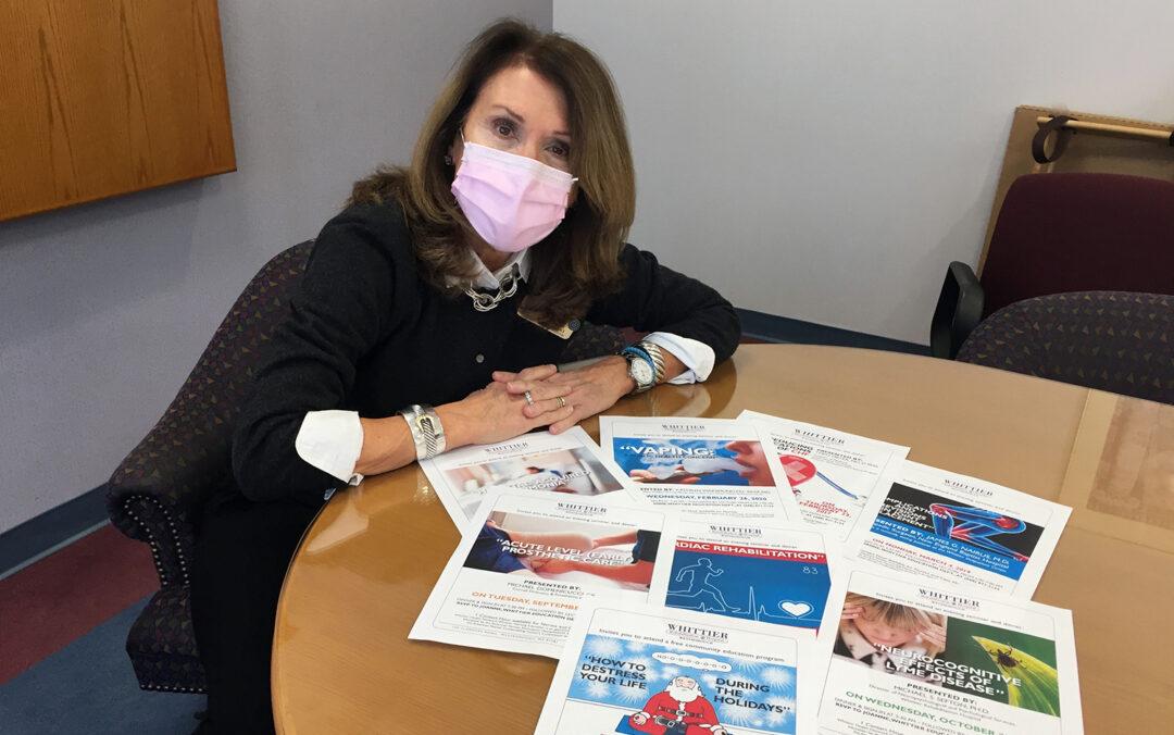 Joanne Swiderski, Director of Community Relations & Education at Whittier Rehabilitation Hospital Westborough MA